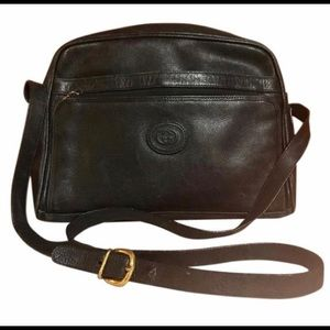 Authentic Vintage Gucci Leather Crossbody Bag